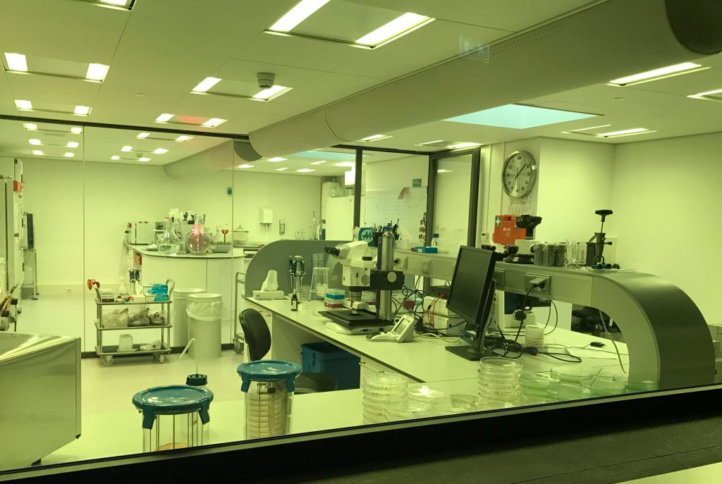 Micropia also features an in-house lab used to maintain the living components of the collection.